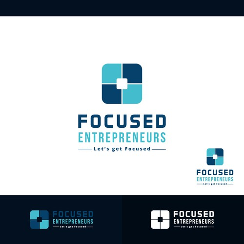 Concept logo designed for Focused Entrepreneurs