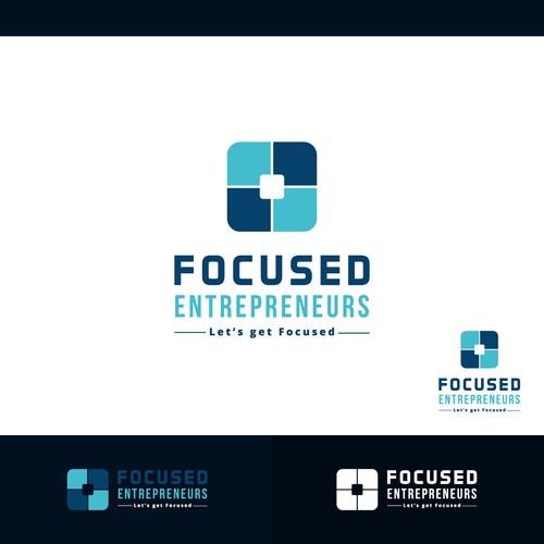 Concept logo designed for Focused Entrepreneurs