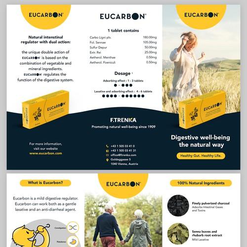 Tri-fold brochure for Eucarbon