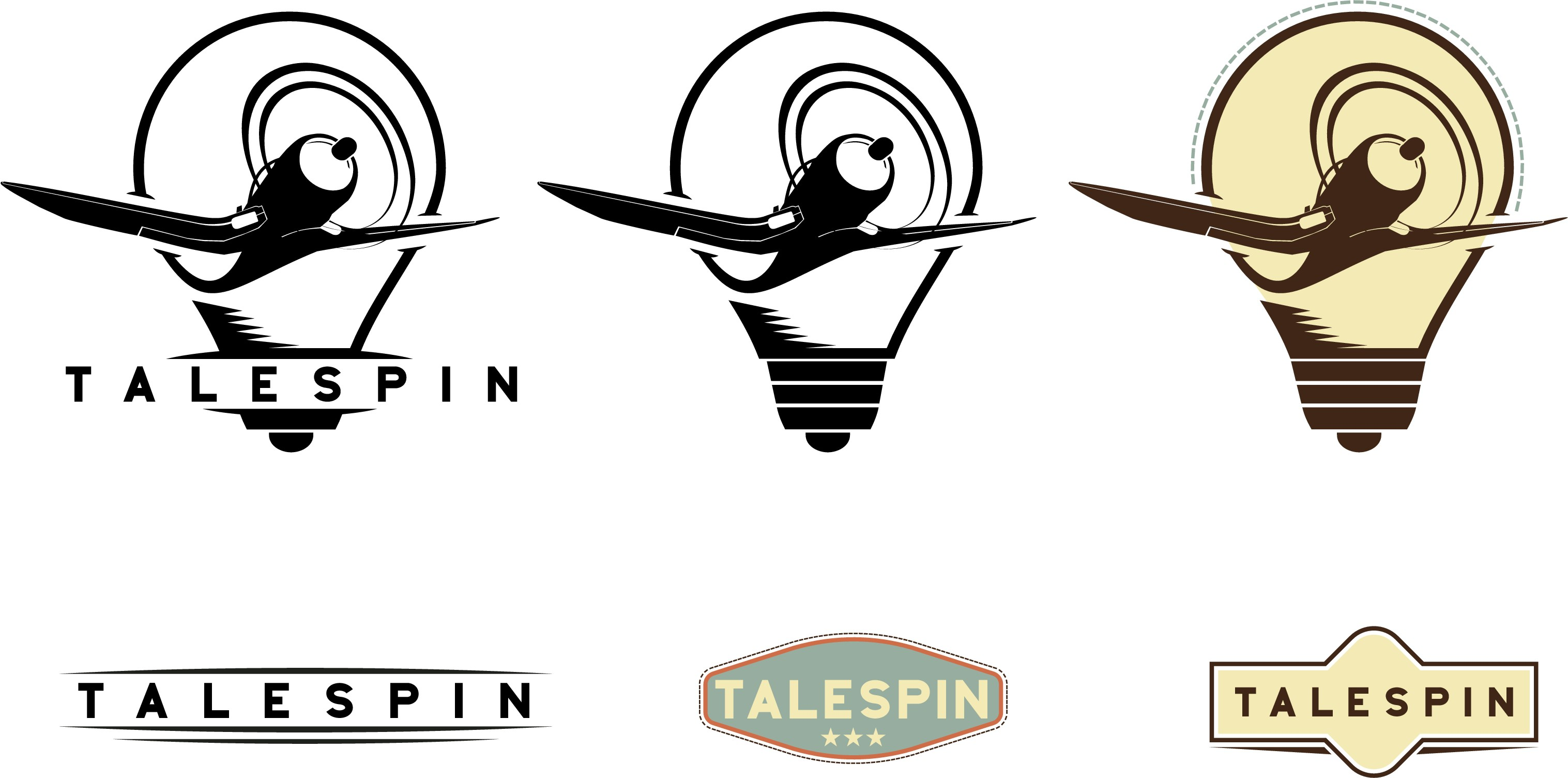 Create aviation themed logo for new tech startup