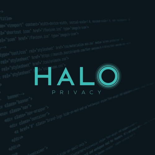 "Logo for ""Halo"", a secure communication company"