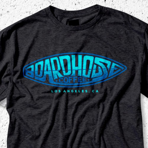 Boardhouse Coffee Tee Design