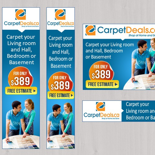 CarpetDeals.ca needs a new banner ad