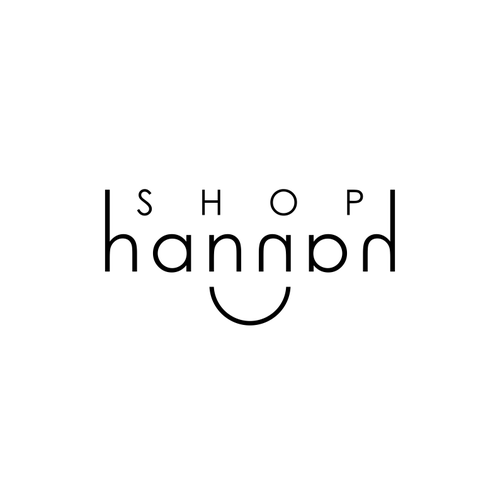 Design a sophisticated logo for an online boutique, Shop Hannah.