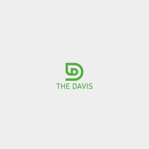 D + Leaf Logo