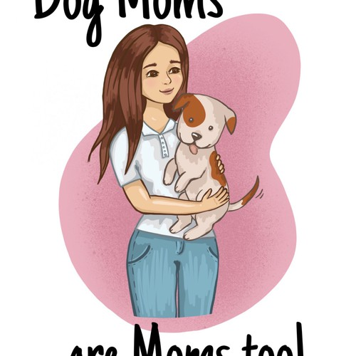 Mother Day Card for Dog Moms