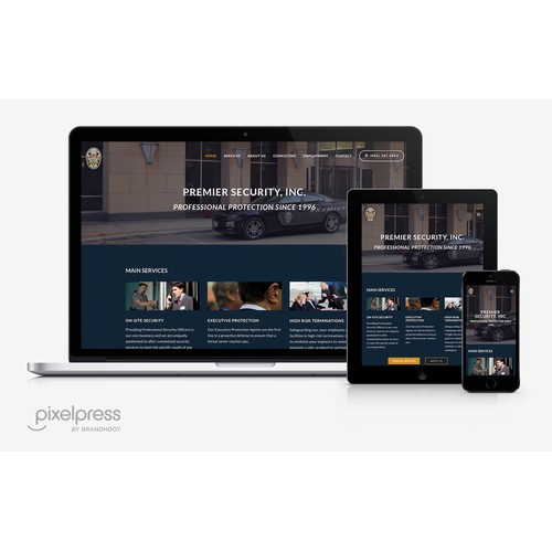 Premier Security, Inc. Website Design