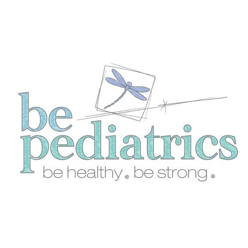 Create a hip, modern logo for Be Pediatrics