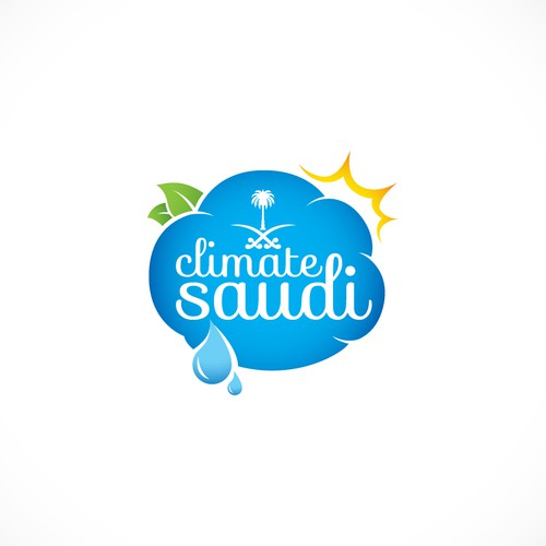 Logo concept for Climate Saudi