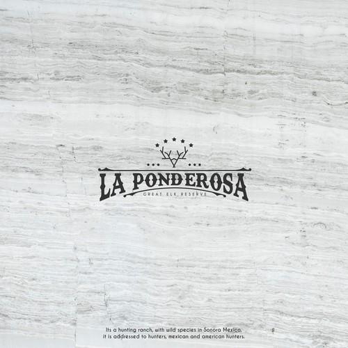 La Ponderosa Logo Concept