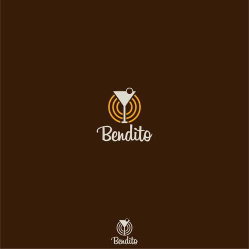 create the best logo for a bar/ bistro which plays a great electronicmusic