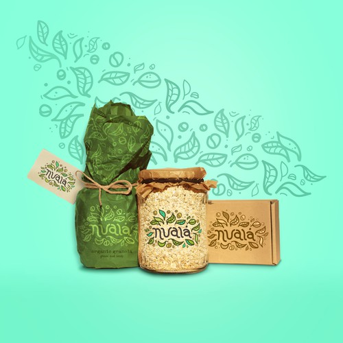 Organic Granola - Brand Identity + Packaging
