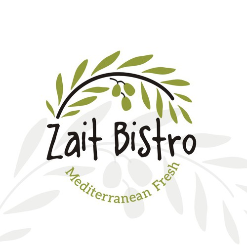 Logo-design for Zait Bistro