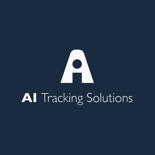 AI Tracking Solution Logo Design Concept
