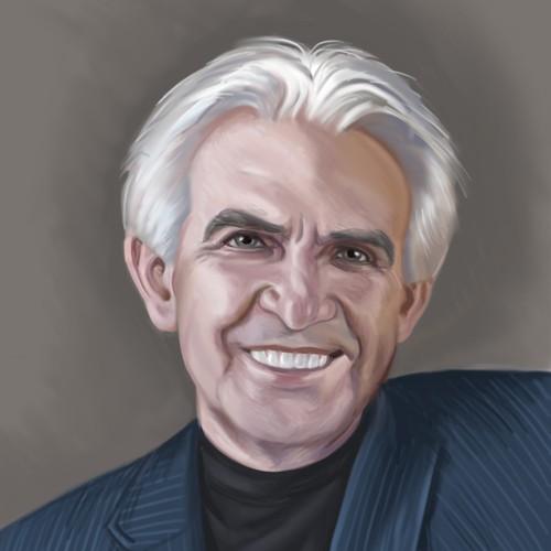 Портрет писателя Д. Келли