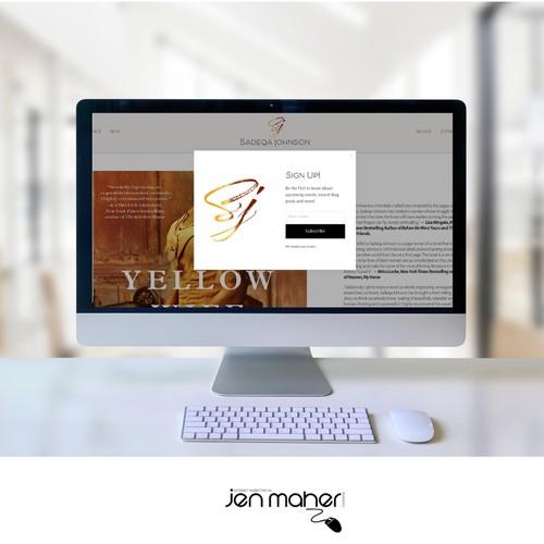 Logo & Website Design for Best Selling Author