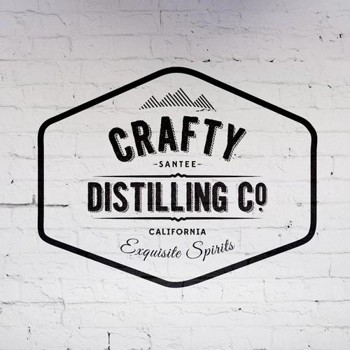Distilling Company Logo
