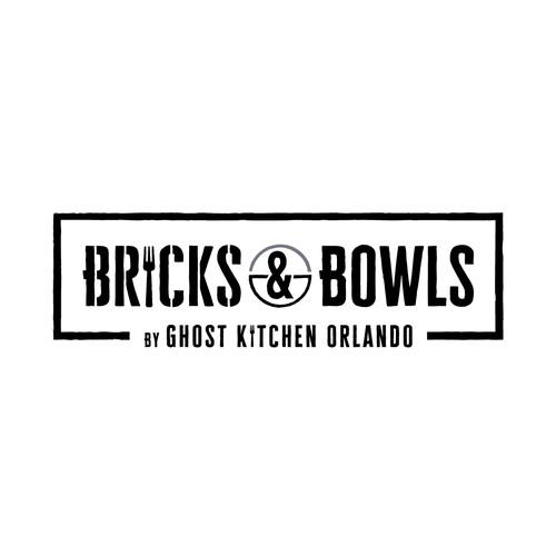 Logo Bricks & Bowls By Ghost Kitchen Orlando