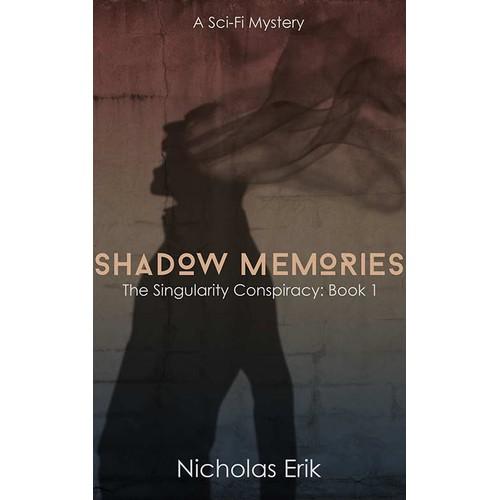 Create a book cover for a sci-fi mystery novel