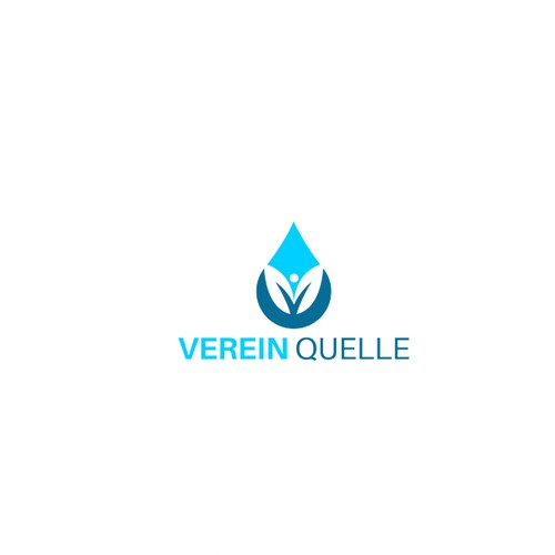 Water drop Logo Concept