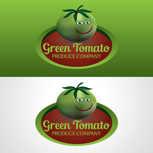 Logo concept for 'Green Tomato'