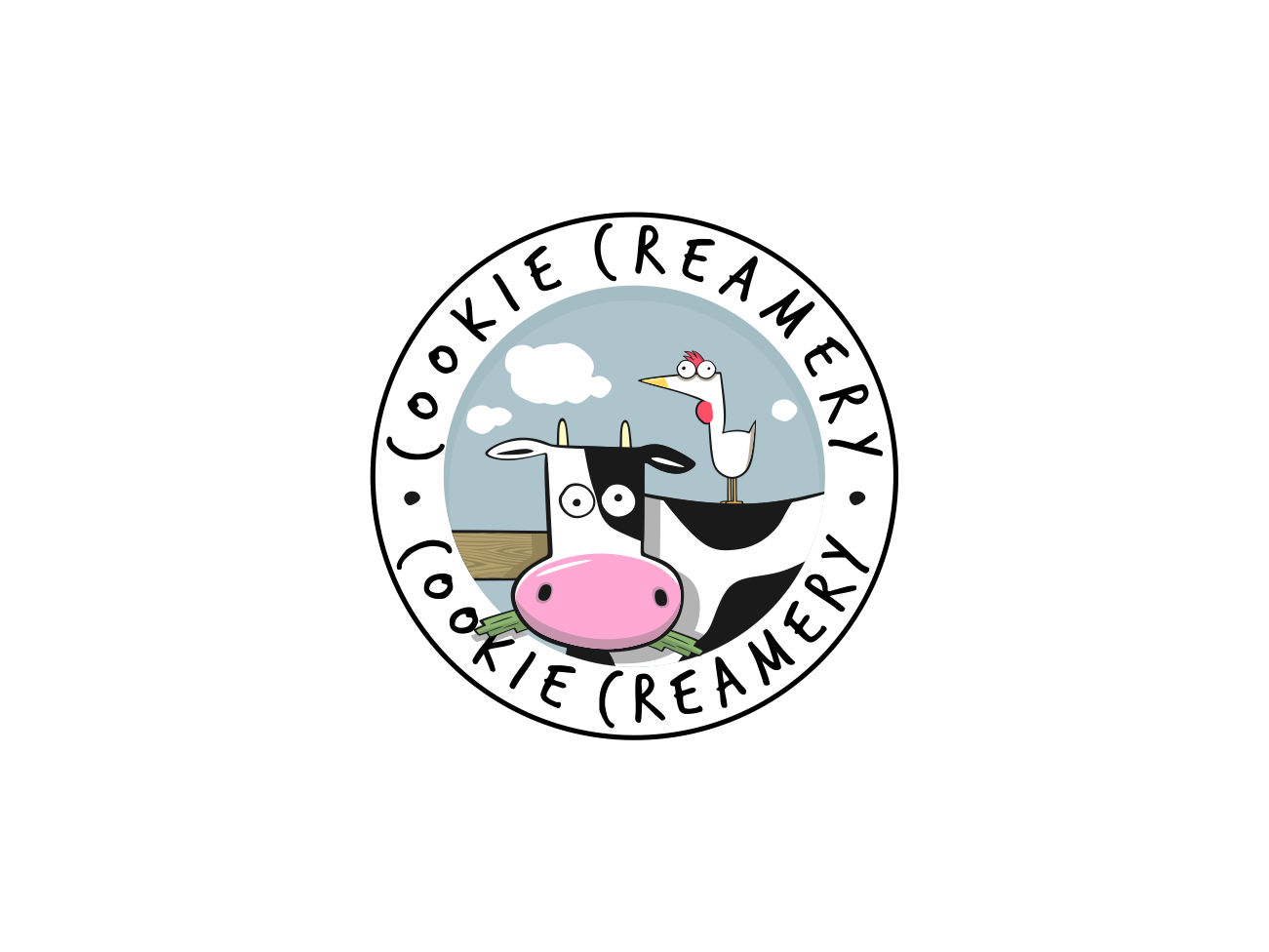 Cookie Creamery: Our hand-crafted ice cream and cookies cafe needs a logo!
