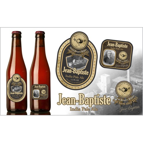 Designingthe labels of 7 belgian beers - EXTRA: Free beers samples for the winner