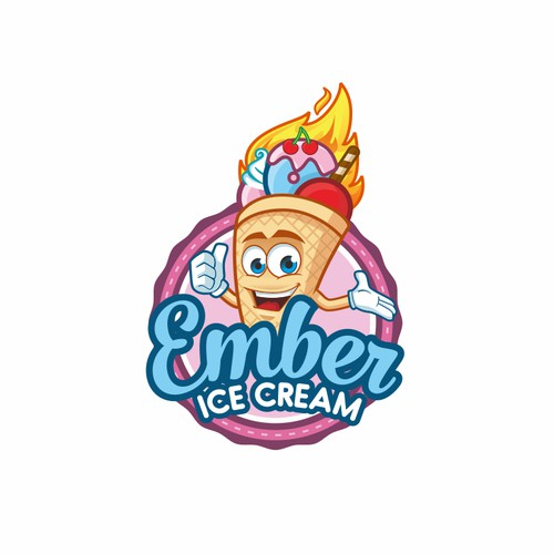 fun Logo Ice cream