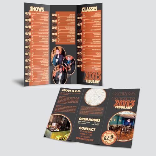 Q.E.D. Calendar Brochure