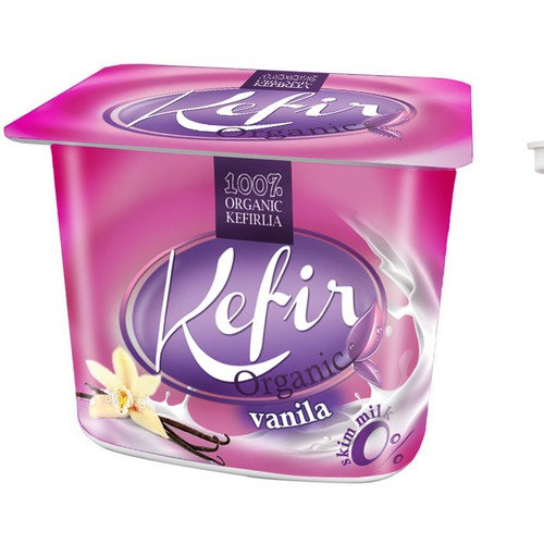 Packaging for 100% Kefirija Organic