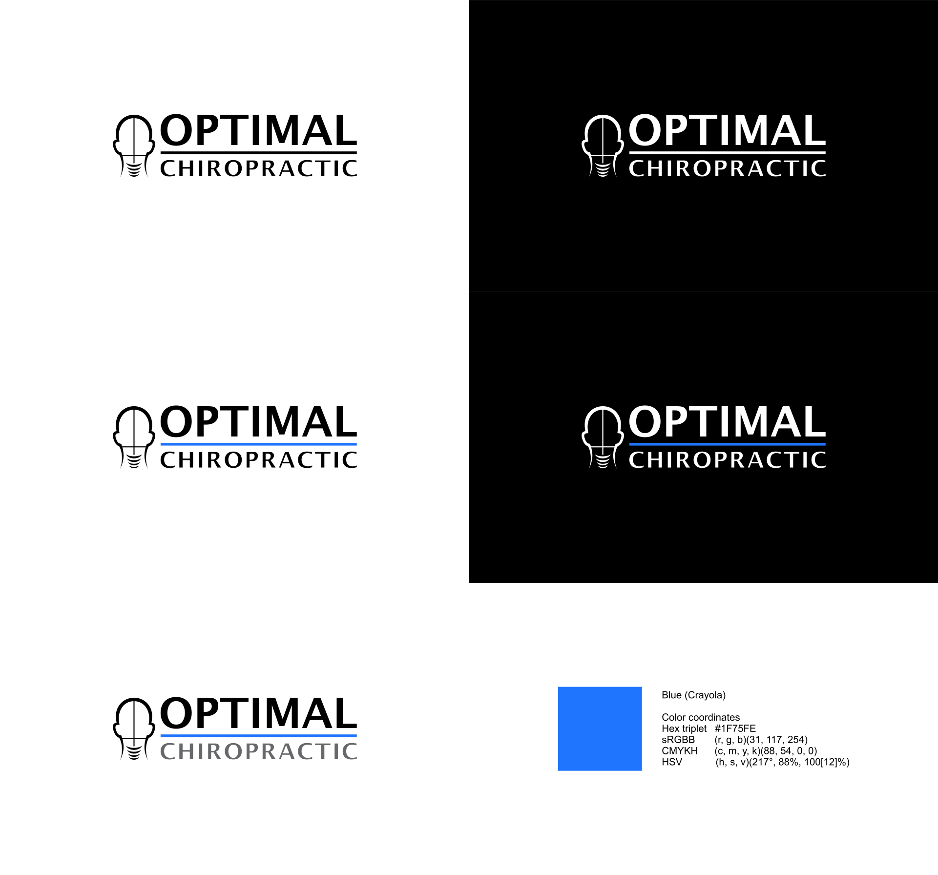 Optimal Spinal Care Needs a Strong but Simple logo.