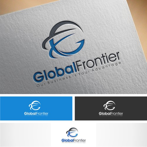Logo designs for global frontier