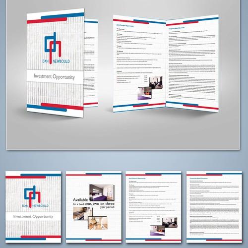 Brochure design in editable format