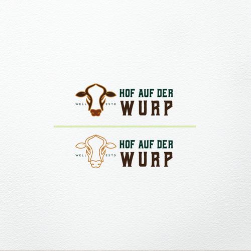 bold logo concept for Family Dairy Farm.