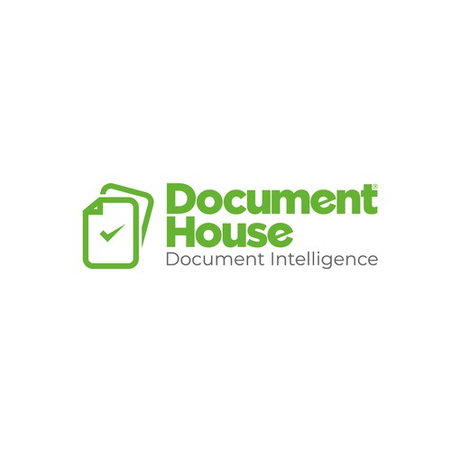 Logo design | Documents with intelligent and correct data