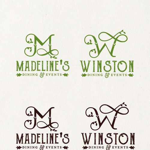 Logo for wedding event company