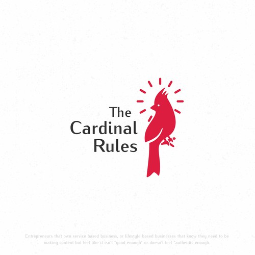Logo design for The Cardinal Rules