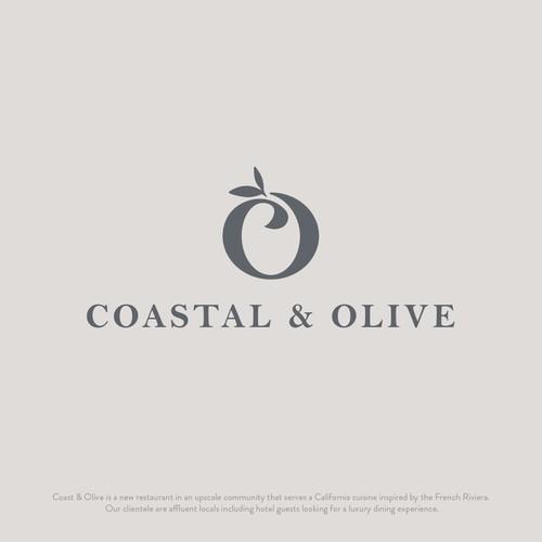 Coastal & Olive Logo