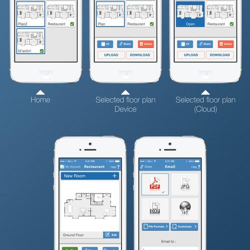 Redesign the award winning MagicPlan application. Already 5 million users!