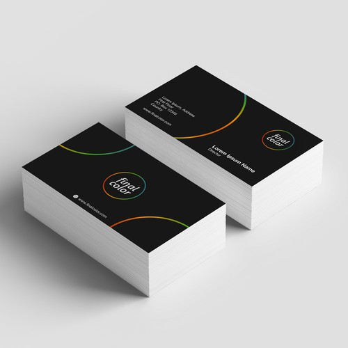 Amazing Logo & BUsiness card for Printong company