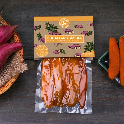 Packaging for Sweet potatoes