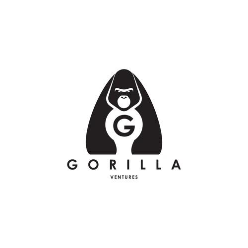Gorilla Logo for a Venture Company Builder