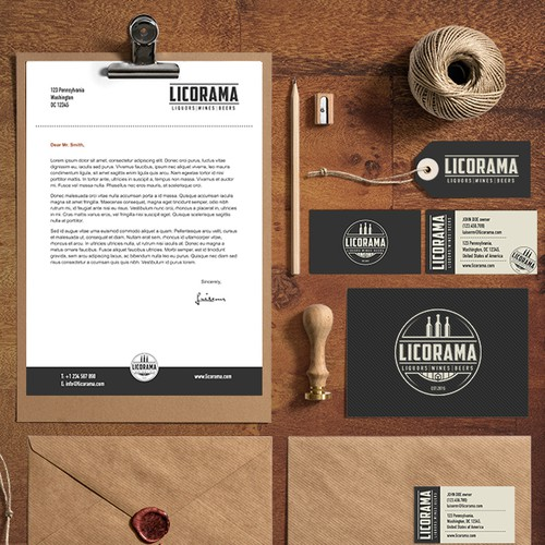 Logo concept for Licorama