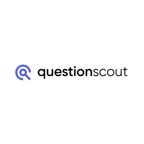 Modern logo for questionscout