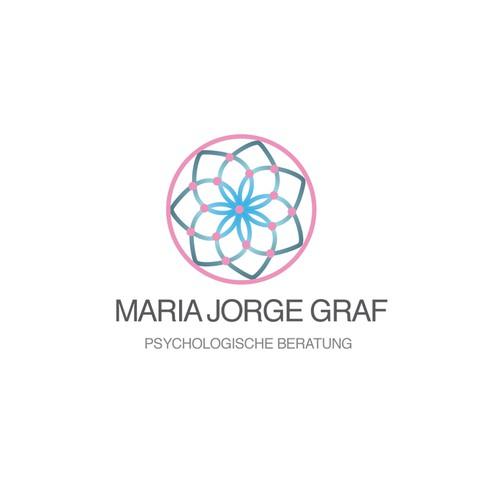 Feminine Logo for Maria Jorge Graf