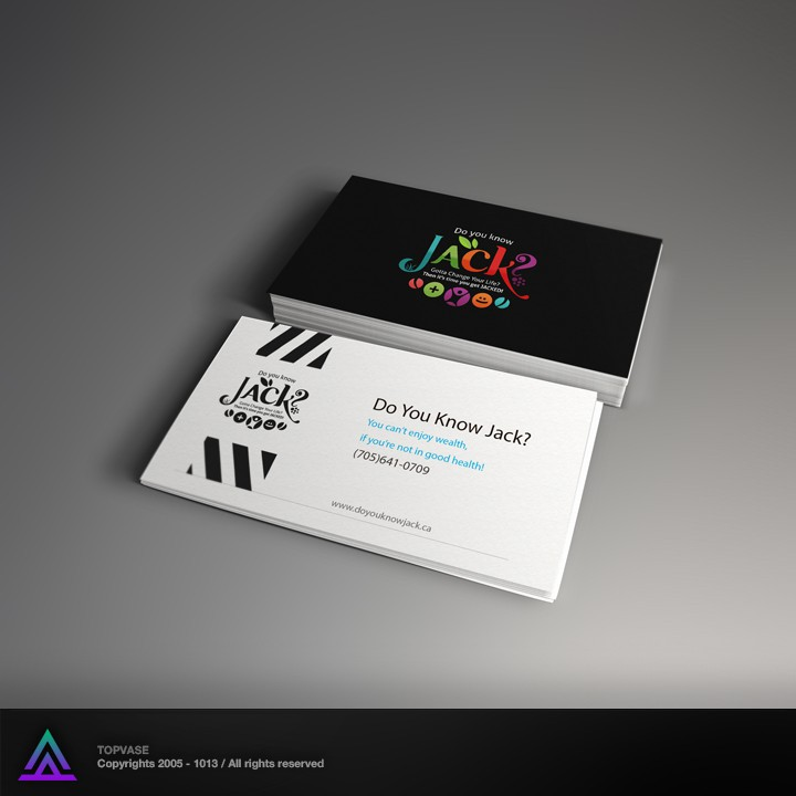 logo and business card for Do You Know JACK?