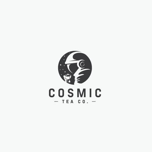 Cosmic Tea Co. Logo Design