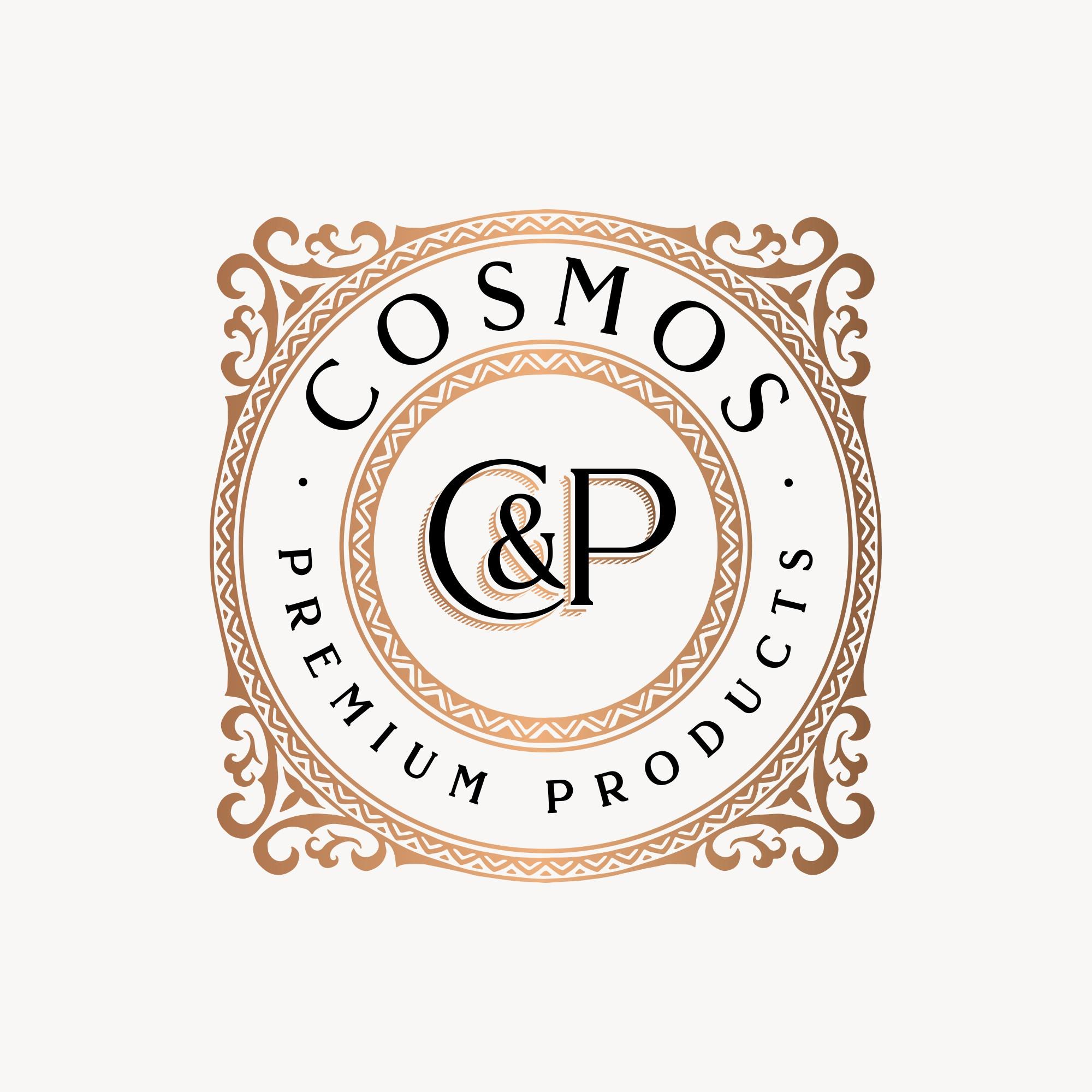 Erstelle ein Premium Logo für Cosmos Premium Products