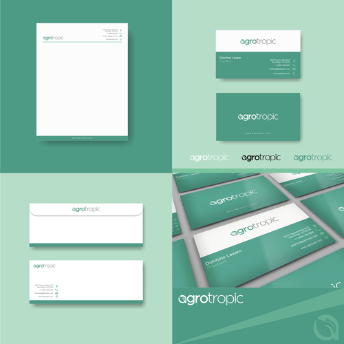 Agrotopic logo and brand identity