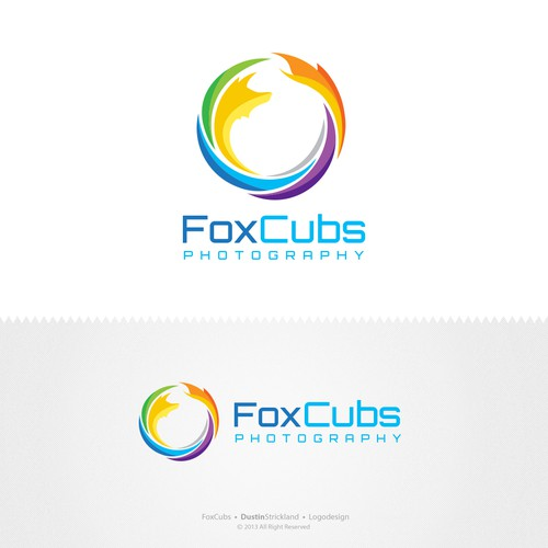 Newborn Photography Logo Design